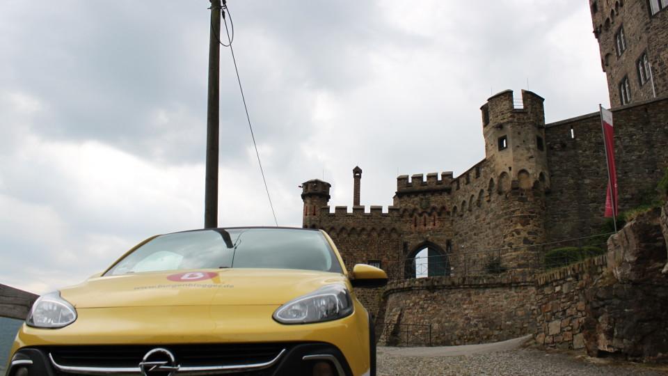 Das Auto von Burgenbloggerin Jessica Schober.