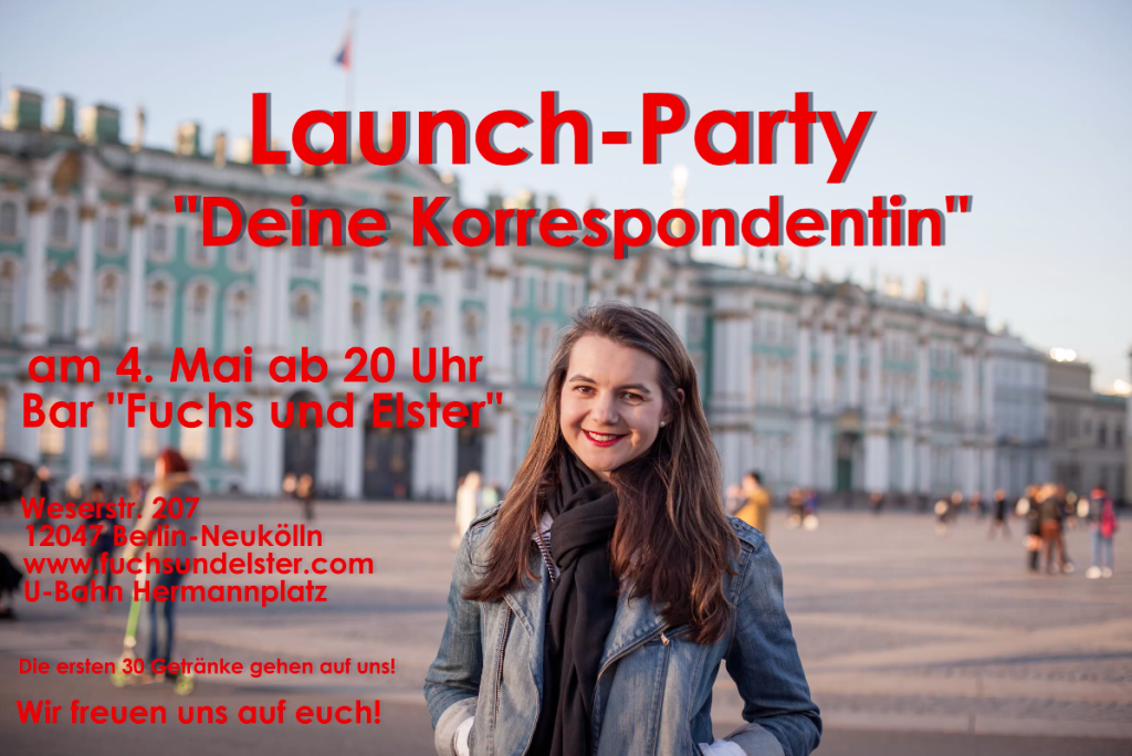 Launch-Party am 4. Mai in Berlin