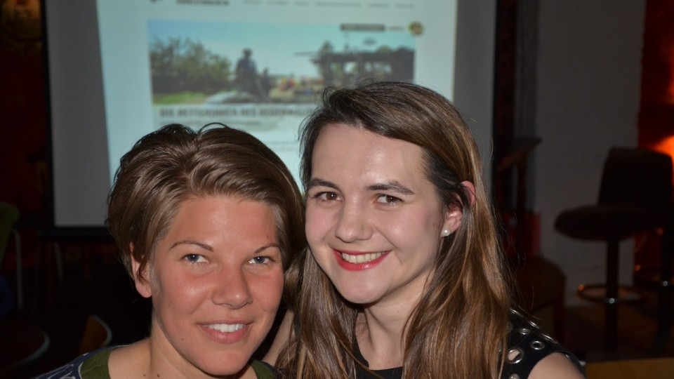 Tabea Grzeszyk (links) und Pauline Tillmann