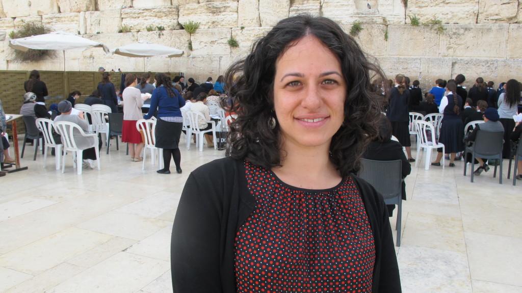 """Leora Becher findet die Westmauer habe sich in """"eine ultraorthodoxe Synagoge"""" verwandelt."""
