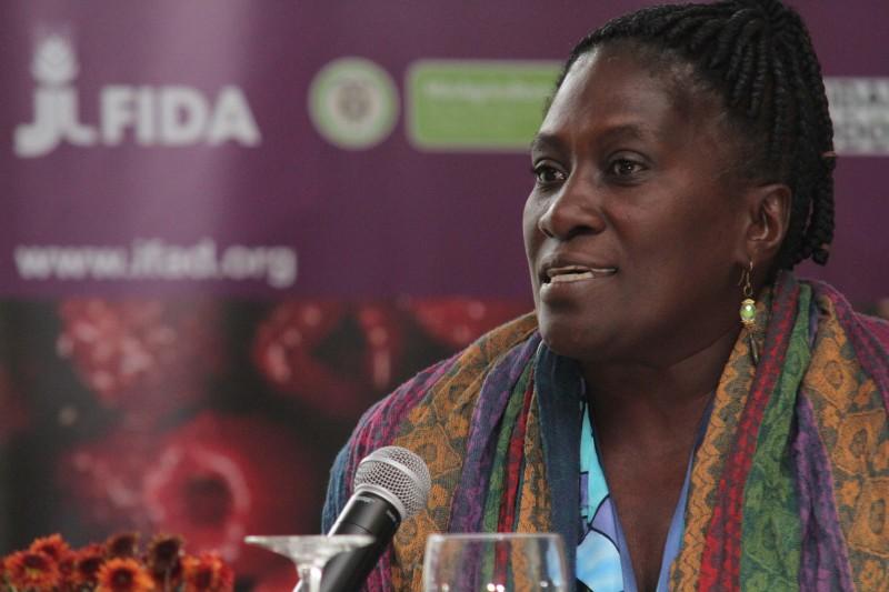 Teofila Betancurth ist Vorbild für viele Afrokolumbiannerinnnen in ihrem Land.