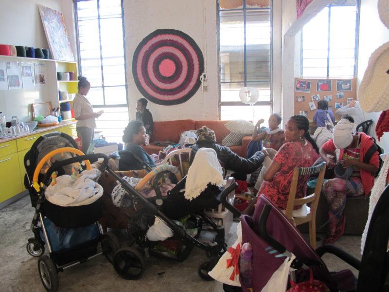 Frauen im Kuchinate-Projekt