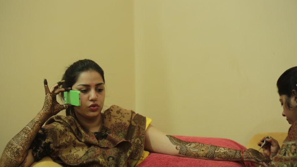 Die Braut bekommt am ersten Tag ihrer Hochzeit das aufwändigste Henna.