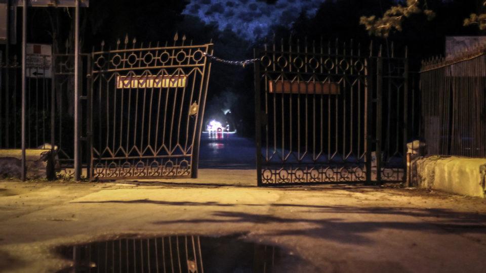 Der Eingang des Parco della Favorita: Bis zu vierzehn Stunden stehen die Afrikanerinnen hier an der Straße.